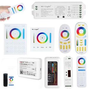 MiLight wifi FOR Amazon Alexa 4Zone rgb rgbw LED Strip CCT Remote Controller