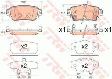 Trw guarnición frase, freno de disco para dispositivo de frenado gdb3617