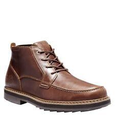 TIMBERLAND A2C53 SQUALL CANYON MEN'S BROWN WATERPROOF MOC-TOE CHUKKA BOOTS