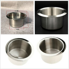 4 Pcs 83.5mm Stainless Car Boat RV Cup Drink Bottle Holder Corrosion Protection