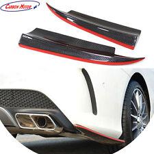 For Mercedes Benz CLA45 AMG CLA W117 CLA250 Carbon Fiber Rear Bumper Splitter