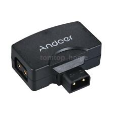 D-Tap to USB Battery Adapter Power Connector for BMCC  V-Mount Camera L7V2