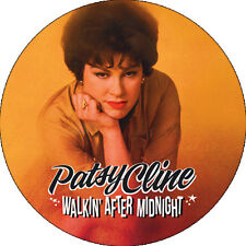 CHAPA/BADGE PATSY CLINE . pin button johnny cash hank williams country western