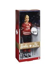 Tim Hortons Barbie Doll in Hockey Uniform