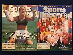 Sports Illustrated July 19 Dec 20 1999 Brandi Chastain U.S. Soccer Team Lot Of 2