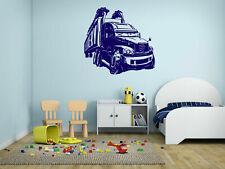 ik334 Wall Decal Sticker Decor big car van kids bedroom