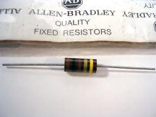 ALLEN BRADY 100 OHM  2 watt 5%  MIL SPEC Carbon Comp Resistor   NOS