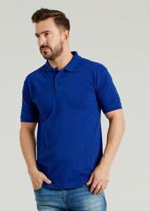 Ultimate 50/50 Heavyweight Piqué Polo Shirt 240gsm Work Wear Mens Top (UCC004)