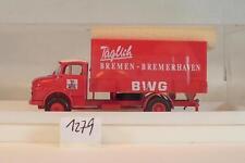 Brekina 1/87 4701 Mercedes Benz L322 LKW BWG Täglich Bremen Bremerhaven OVP#1279