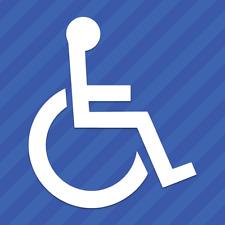 Handicap Symbol Vinyl Decal Sticker Wheelchair Disabled