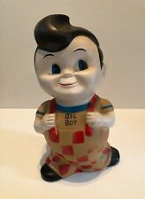 Bob's Big Boy hamburger drive in resturant retro hard vinyl coin bank collect