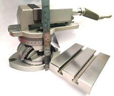 2 50 Mm Jaw Width Modular Milling Machine Vise Vice Amp Tilting Table 4 X 5