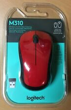Brand New In Box Logitech - M310 Wireless Optical Mouse - Red