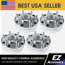 2 Hub Centric Wheel Adapters 5x5 to 6x5.5 | 6 Lug Chevy Rim on 5 Lug Silverado H