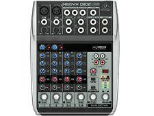 BEHRINGER Q802USB - MIXER 8 INGRESSI CON USB SENZA EFFETTI PER VOCE
