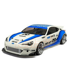 HPI Racing Fatlace Subaru BRZ 200mm Painted Body White For 1:10 RC Cars #114644