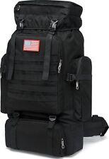 Military Backpack 80L Tactical Molle Backpack Rucksack Bug Out Bag for Shotting