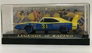Vintage Jim Vandiver # 31 Legends of Racing 1969 Dodge Charger Daytona NASCAR