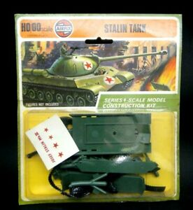 """AIRFIX SCALE H0/00 """" STALIN TANK """" SERIES 1 SCALE MODEL CONSTRUCTION KIT NUOVO"""