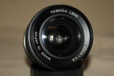 YASHICA DSB 28mm 1:2.8 PRIME LENS YASHICA / CONTAX EXC. EOS M4/3 4/3 6604