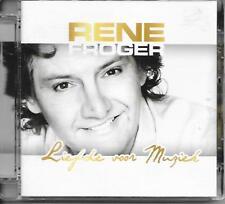 RENE FROGER - Liefde voor muziek CD Album 19TR Holland Schlager Europop 2013
