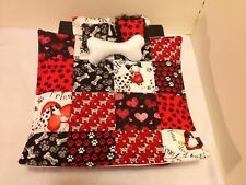 PUPPY LOVE  QUILT Double Bed For Monster High, Barbie, And Bratz Dolls