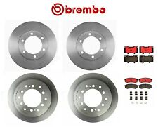 For Toyota Sequoia '01-'07 Front Rear Brembo Brake Kit Disc Rotors Ceramic Pads