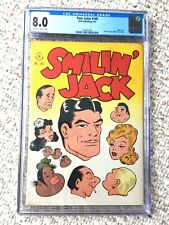 FOUR COLOR  #149 Dell May 1947 CGC 8.0 off-white to WHITE pages Smilin' Jack