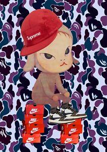 "*45x32cm Death NYC Ltd Ed LARGE Signed Graffiti Pop Art Print ""DEATHG780"""