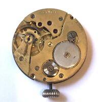 ZENITH Vintage Swiss Pocket Watch Movement 15 Jewels Serial #3230990