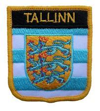 Tallinn Estonia Shield Embroidered Patch