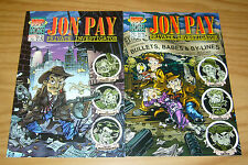 Jon Pay, Private Investigator #1 VF/NM one-shot + bullets babes & by-lines - set