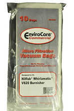 Nilfisk Whirlamatic VS20 Burnisher Commercial Vacuum Bags ECC391