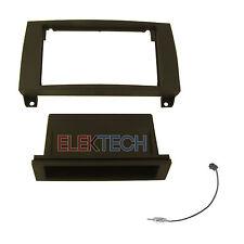 Mercedes SLK Series Radio Dash Install Kit Single Din Pocket & Antenna Adapter