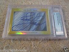 Bob Cousy & Frank Ramsey 2014 Leaf Masterpiece Cut Signature auto signed 1/1 JSA