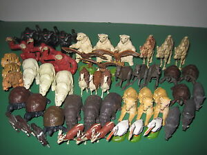 BRITAINS COLLECTIBLE PLASTIC ZOO ANIMALS:  YOU CHOOSE @ £1.99 each