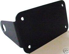 HORIZONTAL motorcycle side Axle mount license plate holder bracket AF2D GTC