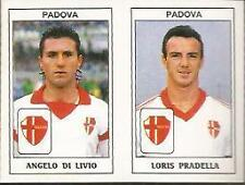 1996-97 Serie B PADOVA PALERMO Calciatori Panini SCEGLI figurina con velina *