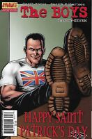 Boys Comic 27 Cover A First Print 2009 Garth Ennis Darick Robertson Dynamite