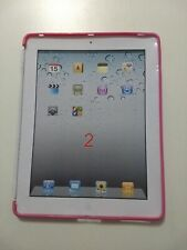 iPad 2 / 3 Compatible Smart Cover Soft Gel Case in Pink by Flexfirm