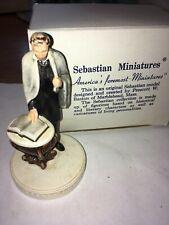 Ceramic P.W. Baston Sebastian Miniature Statue Of Abraham Lincoln With Shawl