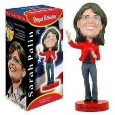 "Royal Bobbles Governor Sarah Palin 8"" Bobble Head Figure Brand New In Box"