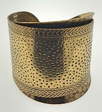 Bronze Double Bangle Bracelet by Chuns, 6.5inches