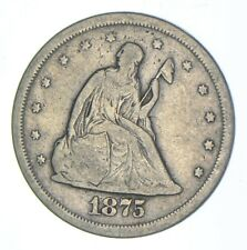 1875-S Seated Liberty Twenty-Cent Piece - Charles Coin Collection *259