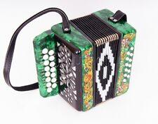 "Diatonic button accordion - Russian Garmon ""Souvenir"" 15х12-I, Shuyskaya factory"