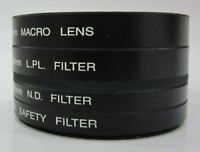 58mm 4pc Macro ND LPL UV filter kit-Canon Rebel XS T5i T4i T3i T2i T1i T3 XTi XS