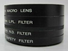 58mm 4pc Macro ND LPL UV filter kit-Canon Rebel XS T5i T4i T3i T2i T1i T3 XTi XS