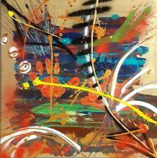 "Thomas Debik "" Imprint "" 60x60 Kunst Gemälde Original"