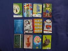 LOT OF PHONE CARDS 12 ISRAEL VTG TELECARD BEZEQ 20 50 120  UNITS Collection