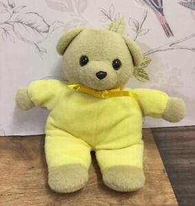 PMS Freemasons TLC Appeal Yellow Teddy Bear Soft Toy Plush